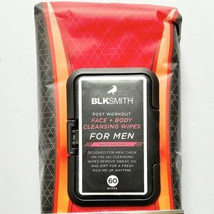 Blksmith Post Work Out Mens Face Body Cleans Wipes